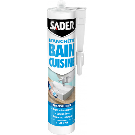 SADER BAIN CUISINE CARTOUCHE PLASTIQUE 280 ml