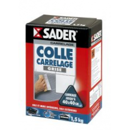 COLLE CARRELAGE SADER GRISE POUDRE